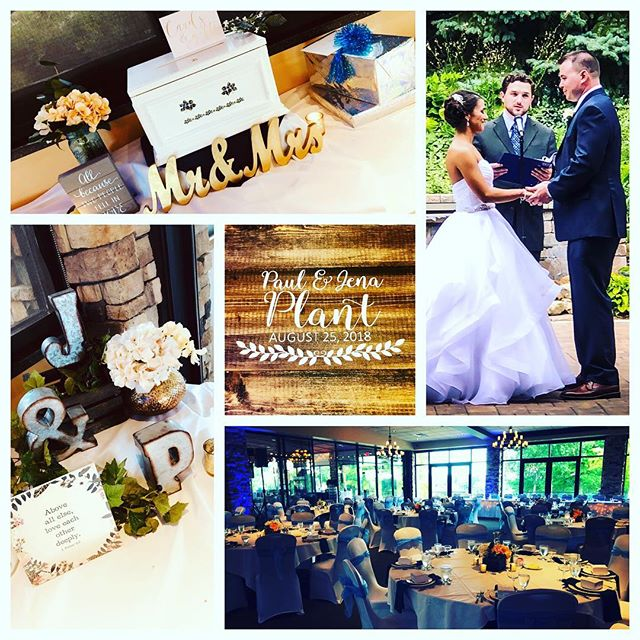 "So pumped to DJ at @ravenwoodgolf tonight and celebrate with this ROCKSTAR couple, Jena & Paul Plant! #ilovemyjob❤️ #SoundExpressDJs #BestDJsinRochester ""It's not what we do, it's how we do it""  www.sedjny.com"