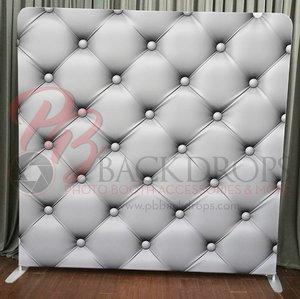 White Leather Pillow