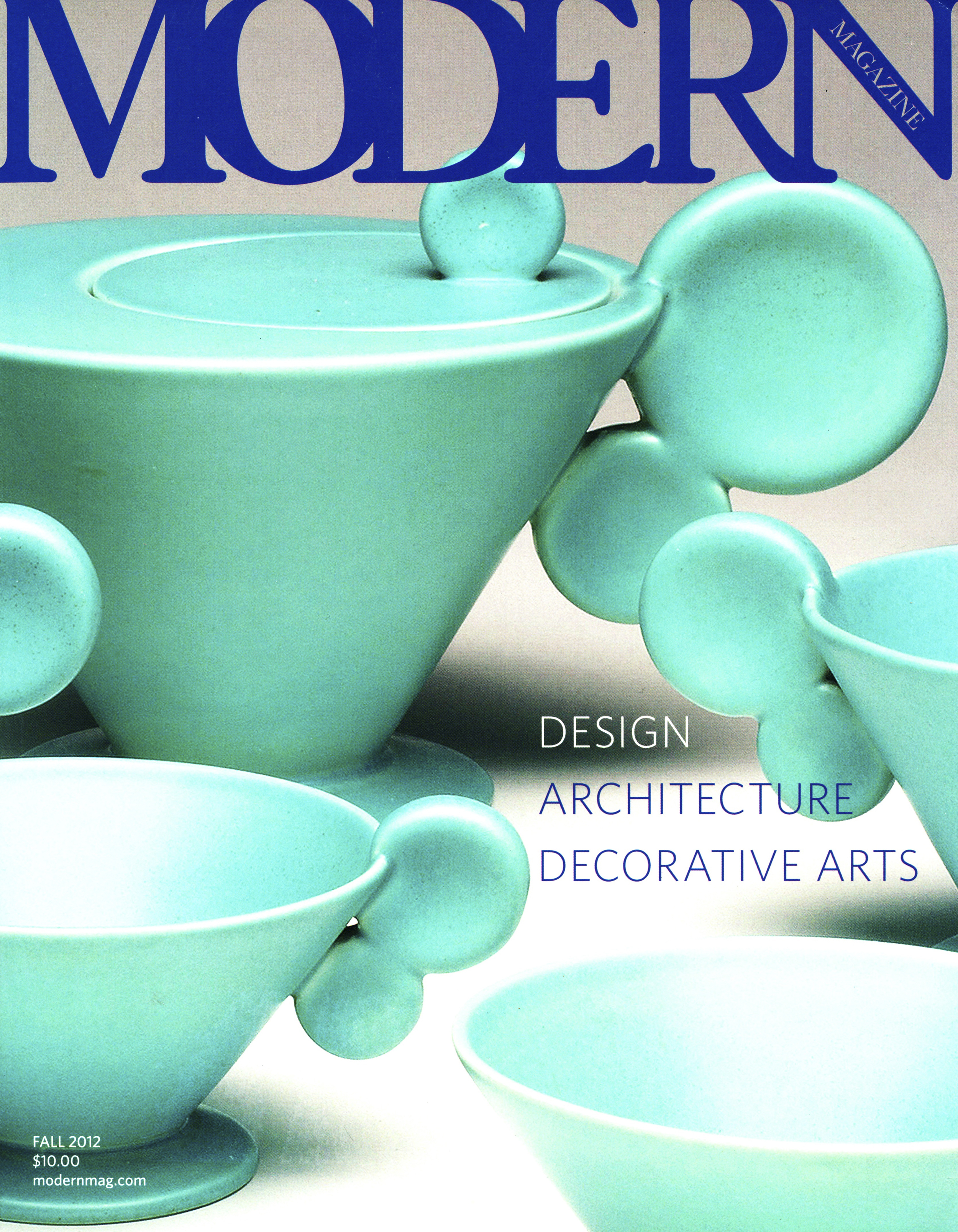 Woman's Work, Modern Magazine, 2012