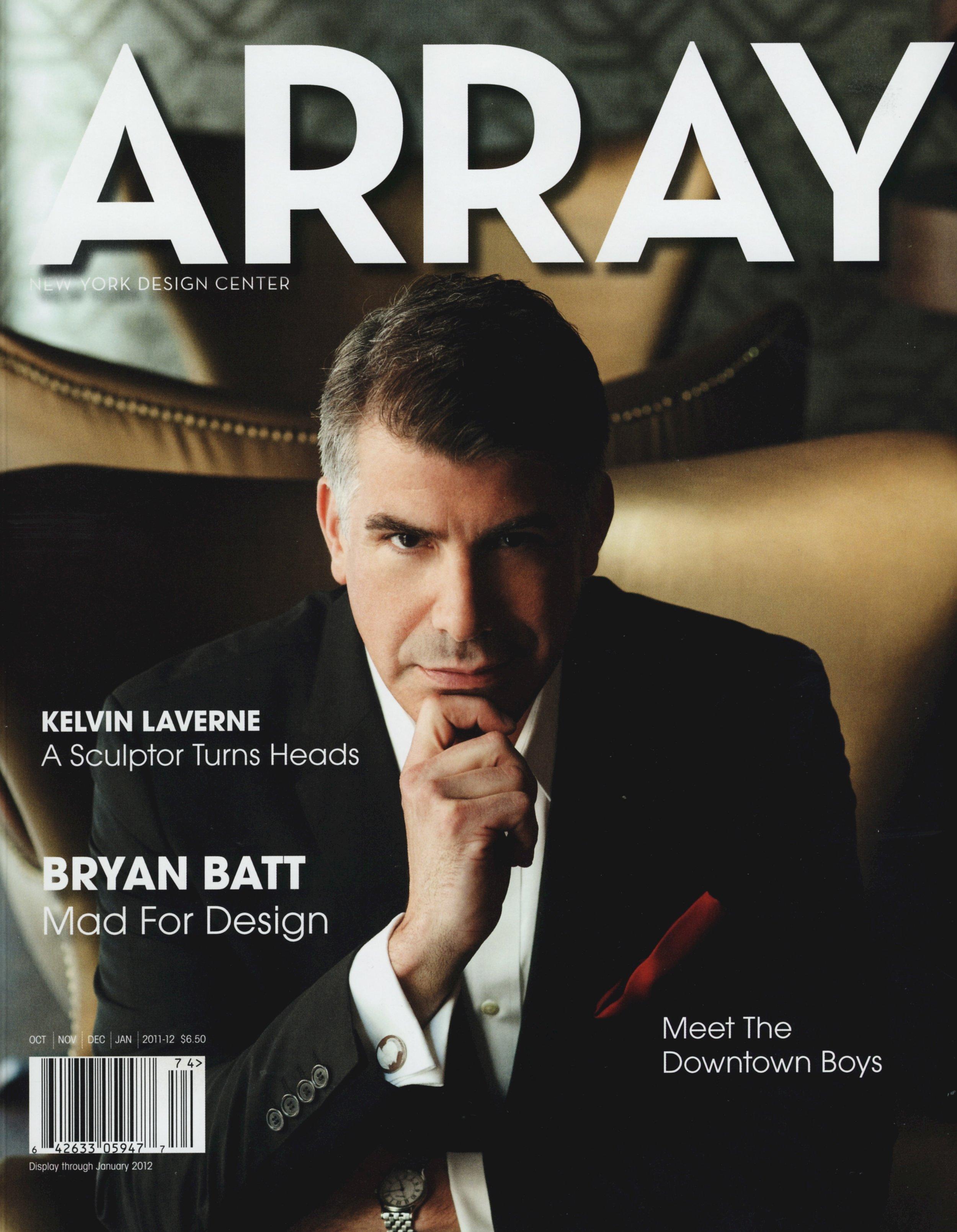 Kelvin Laverne, Array, 2012