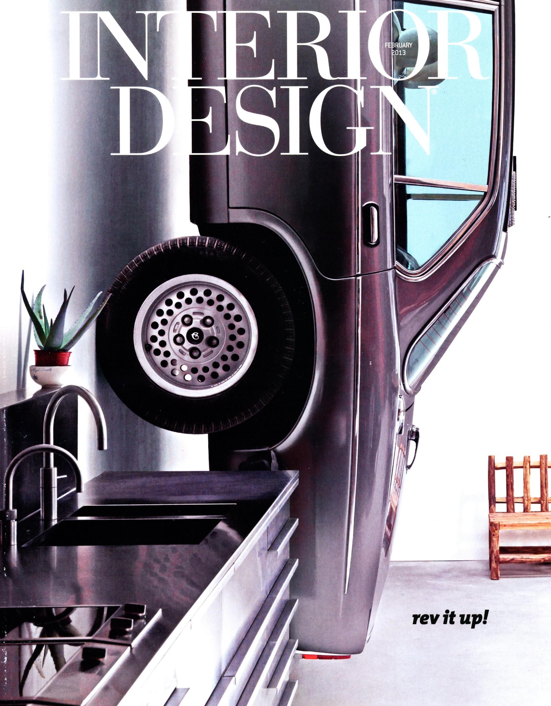 Interior Design, 2013