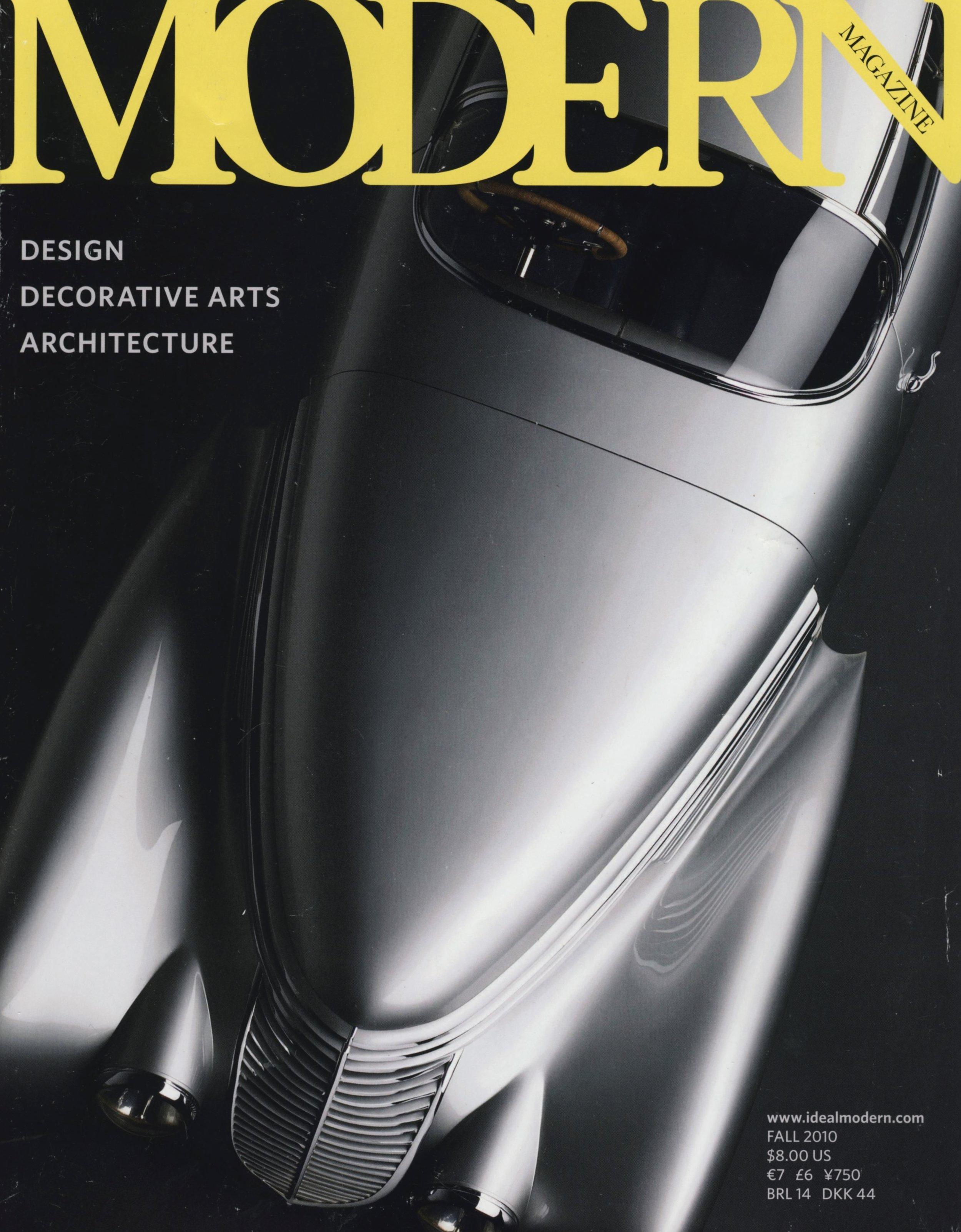 The Quiet Man: Richard Filipowski. Modern Magazine, Fall 2010