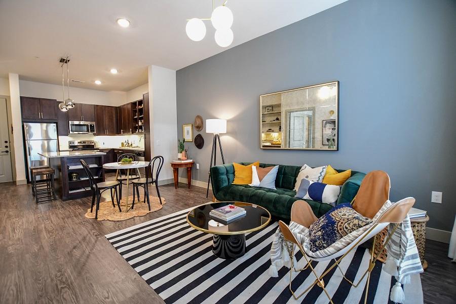 Bleecker St Living Room