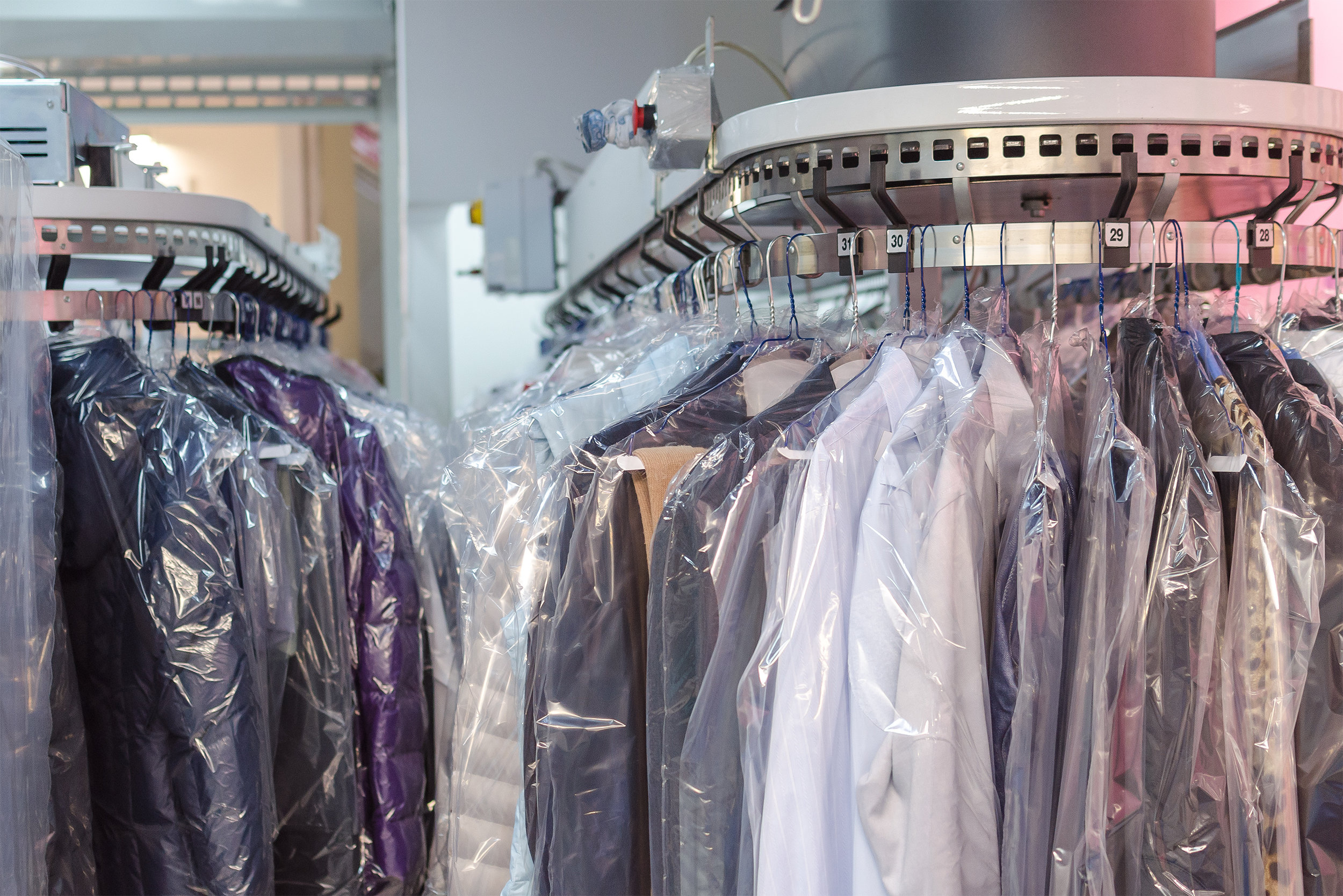 Dry Cleaning Lockers @ 9111 CW Blvd