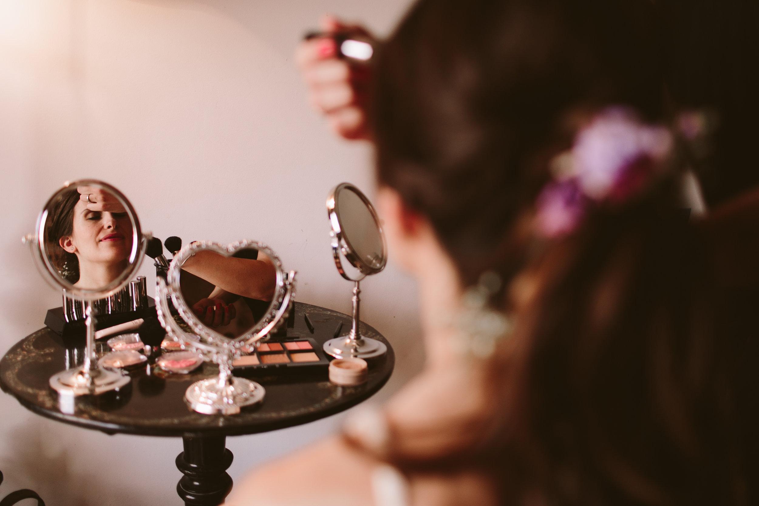 Beauty Corner en la boda  Layla y Ramón  - Foto:  People Producciones