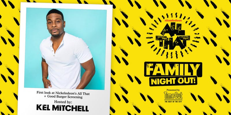 Elevated Films has partnered to produce Time Out Chicago's exclusive free screening of 'Good Burger' + first look at Nickelodeon's 'All That' hosted by Kel Mitchell -