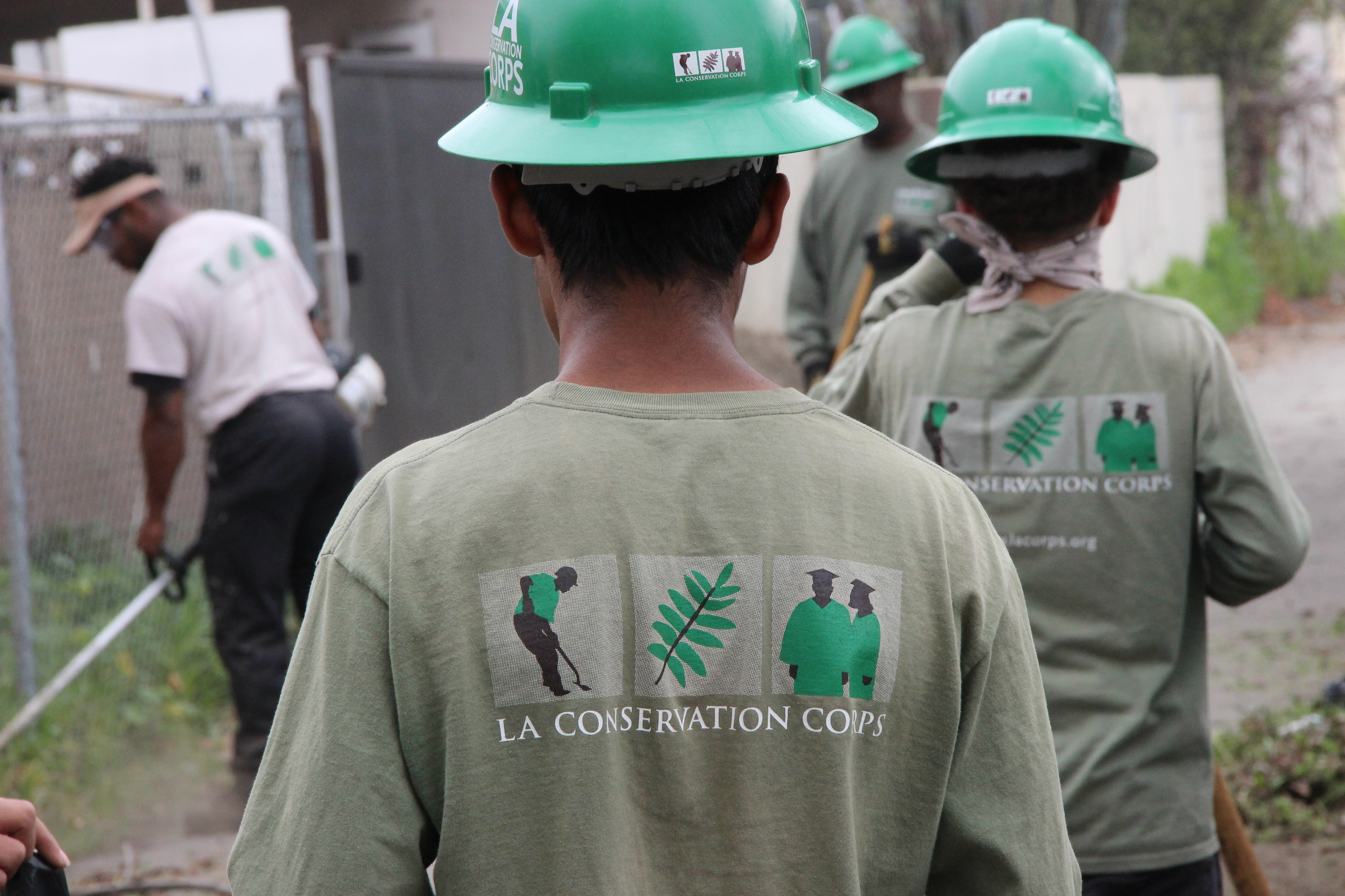 The primary mission of the Los Angeles Conservation Corps is to provide at-risk young adults and school-aged youth with opportunities for success through job skills training, education and work experience with an emphasis on conservation and service projects that benefit the community.