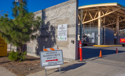 LA Sanitation (LASAN) has established a number of permanent collection sites throughout the City, known as    S.A.F.E. Centers   . These S.A.F.E. Centers are open every weekend and provide a convenient way to dispose of your household hazardous waste.