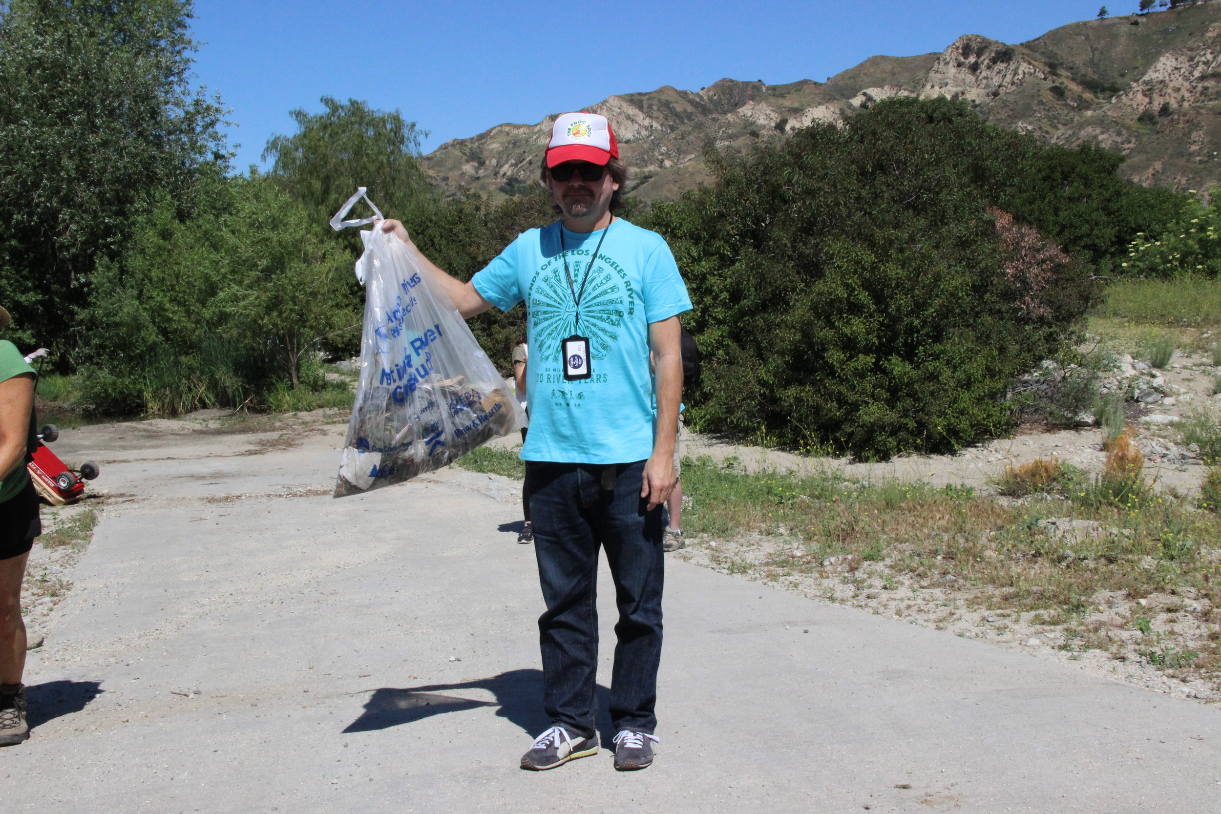 Saturday, April 16, 2016 Friends of the Los Angeles River – The Great LA River Cleanup Tujunga Wash @ Haines Canyon Channel