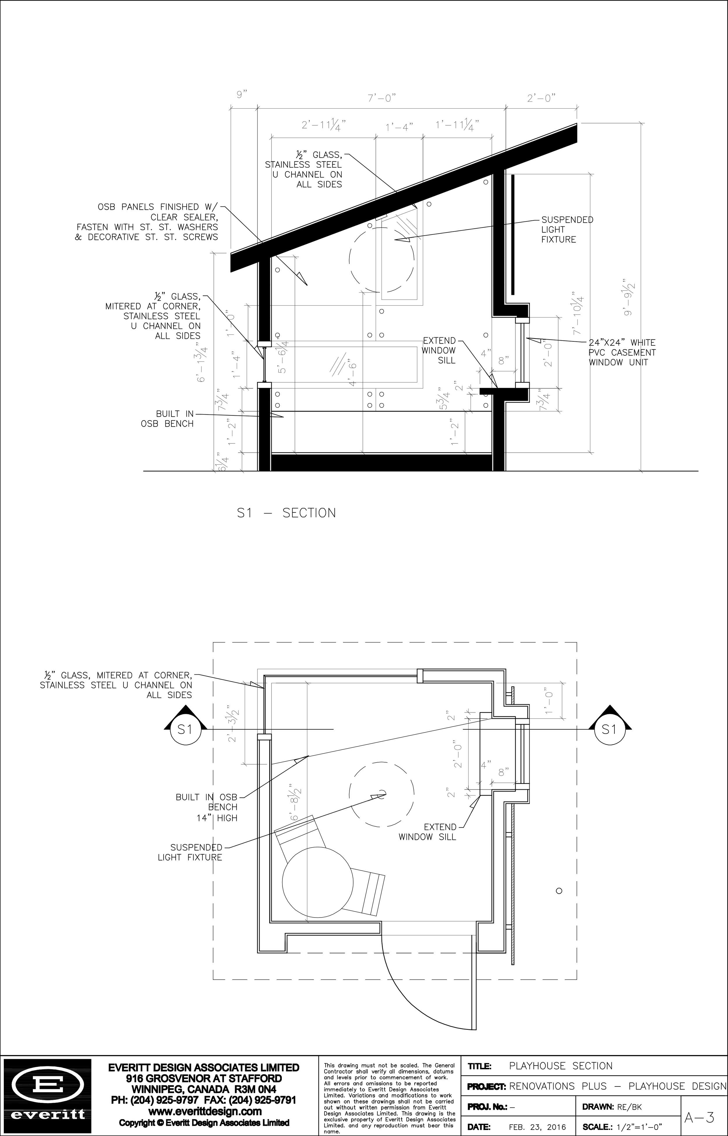 Playhouse Section
