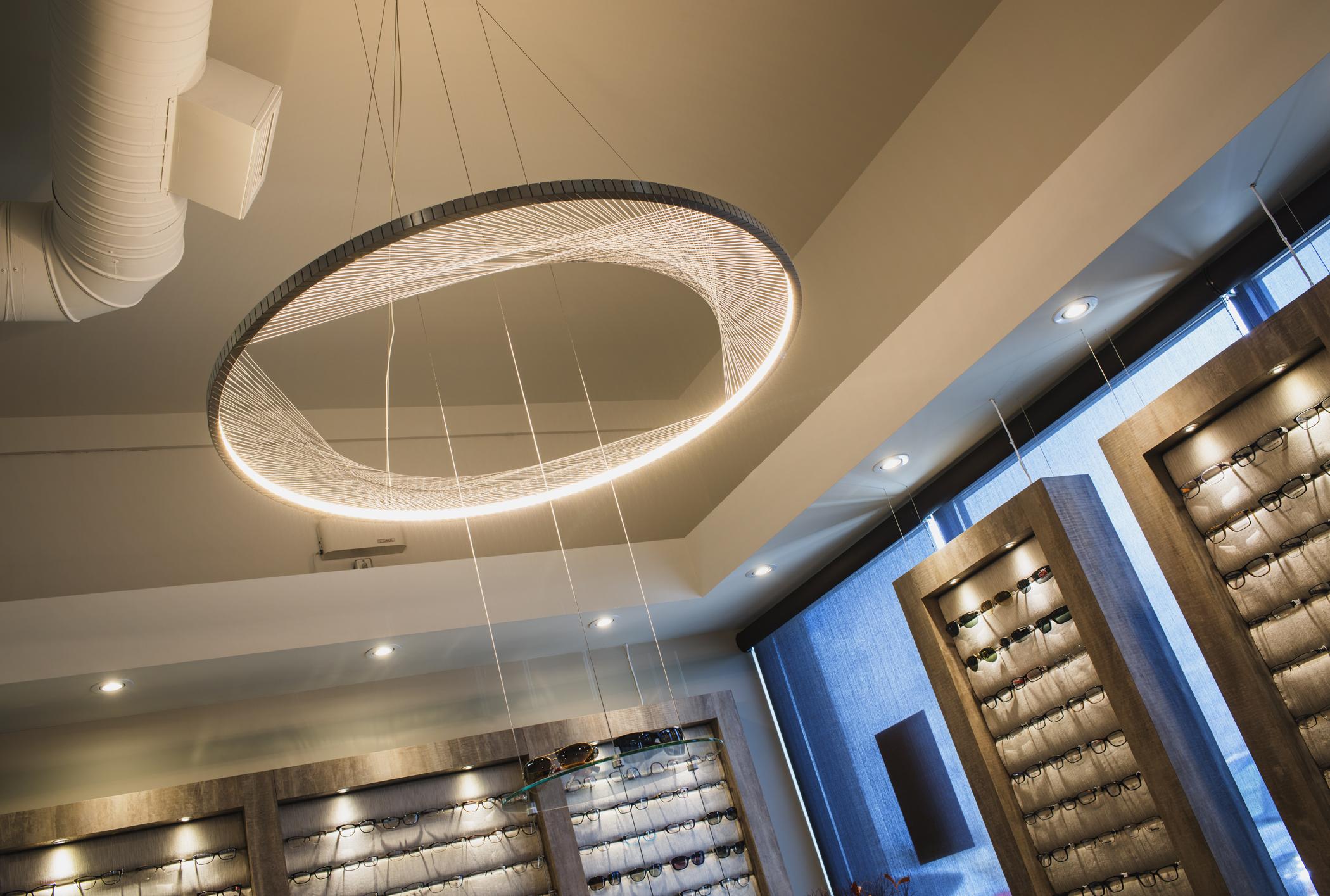 Dispensary light fixture