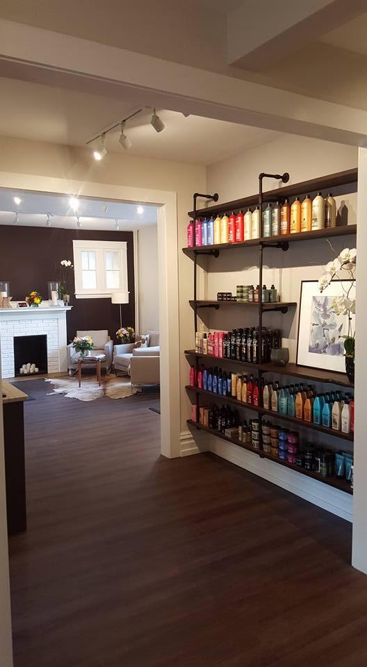 Hair Studio Product Display