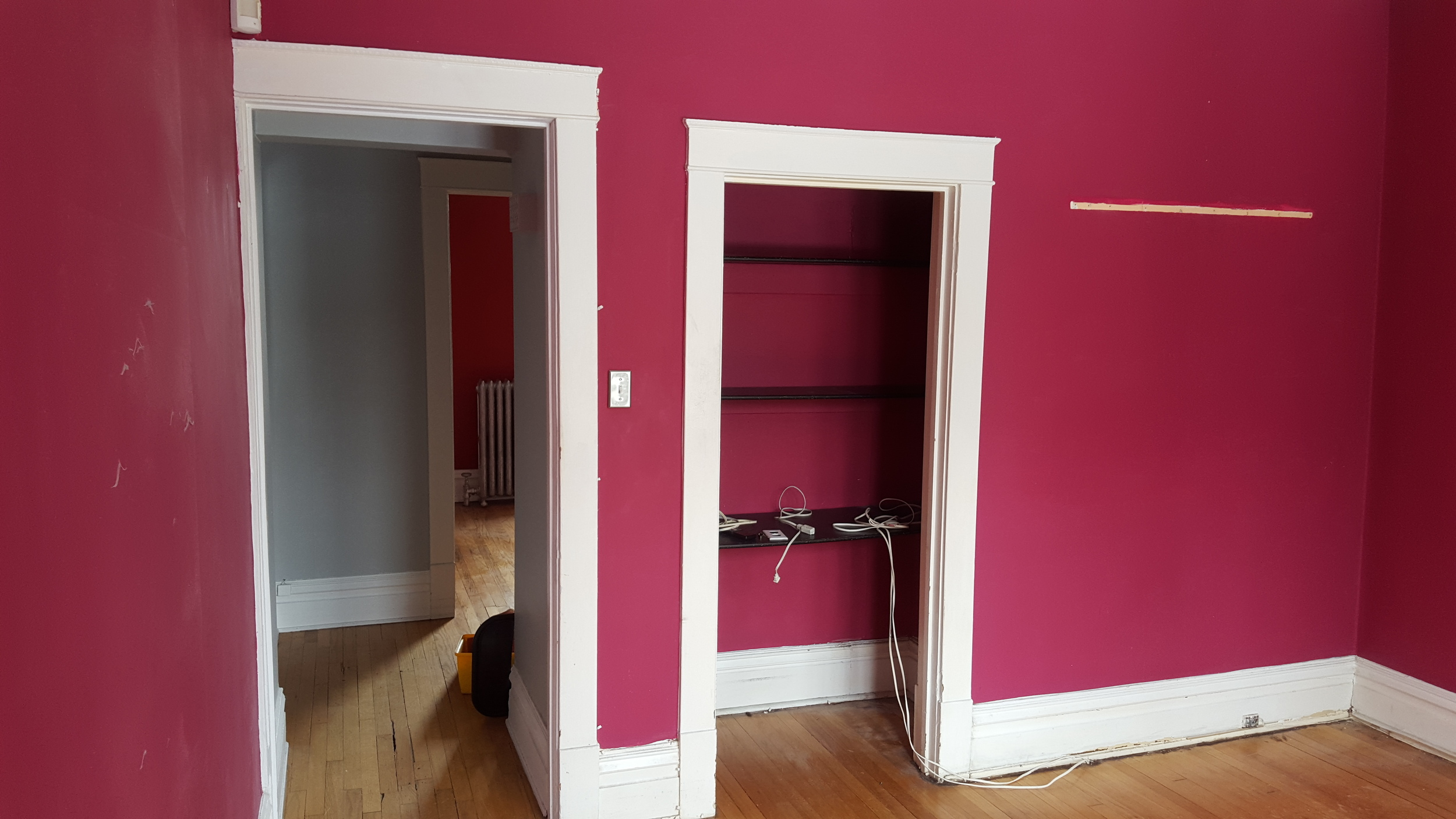 Before - Cutting Room with view to Colour Room