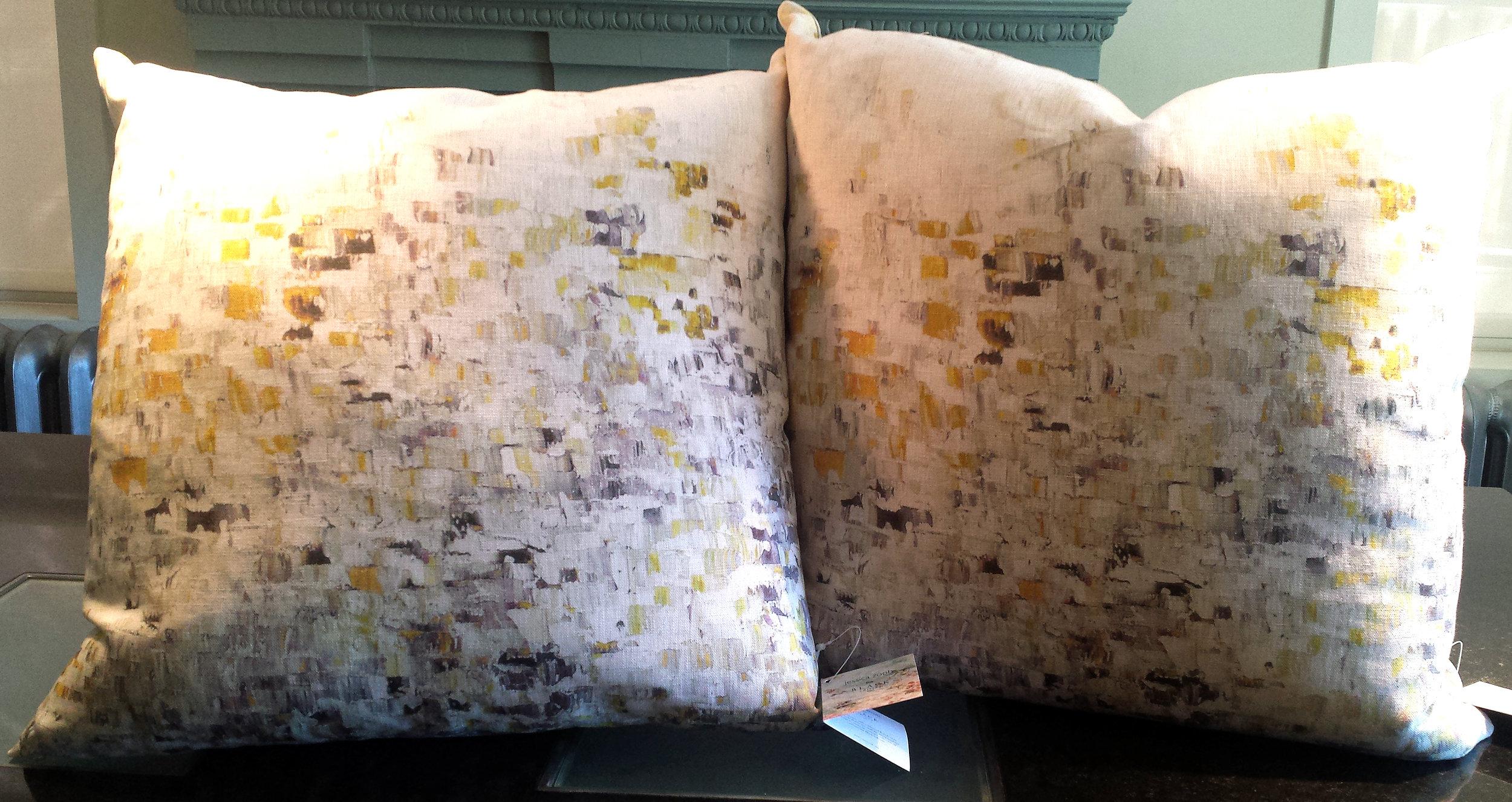Black Edition, Jessica Zoob, Breathe Cushion, Col: Lichen