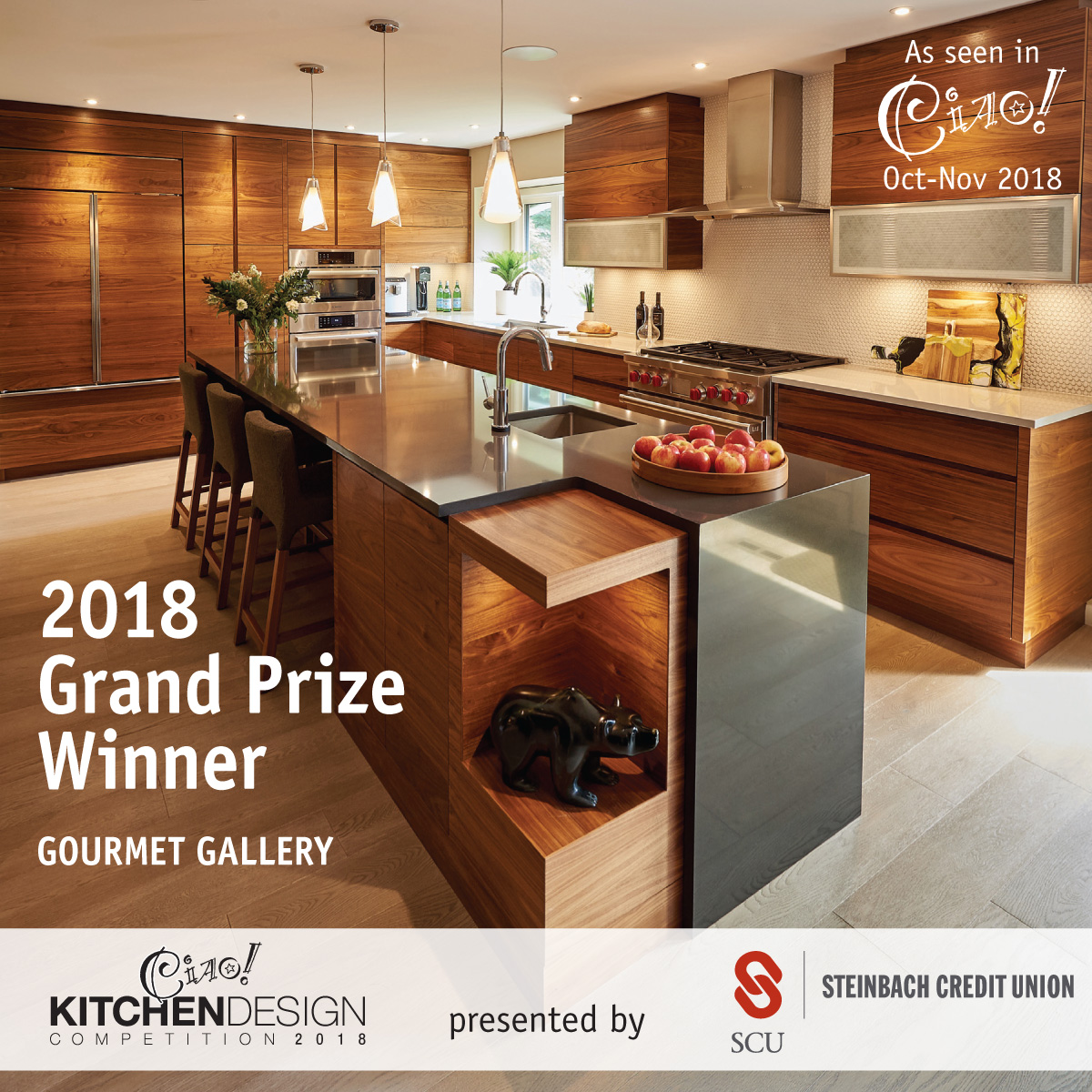 Best Kitchen of the Year - Ciao Magazine 2018