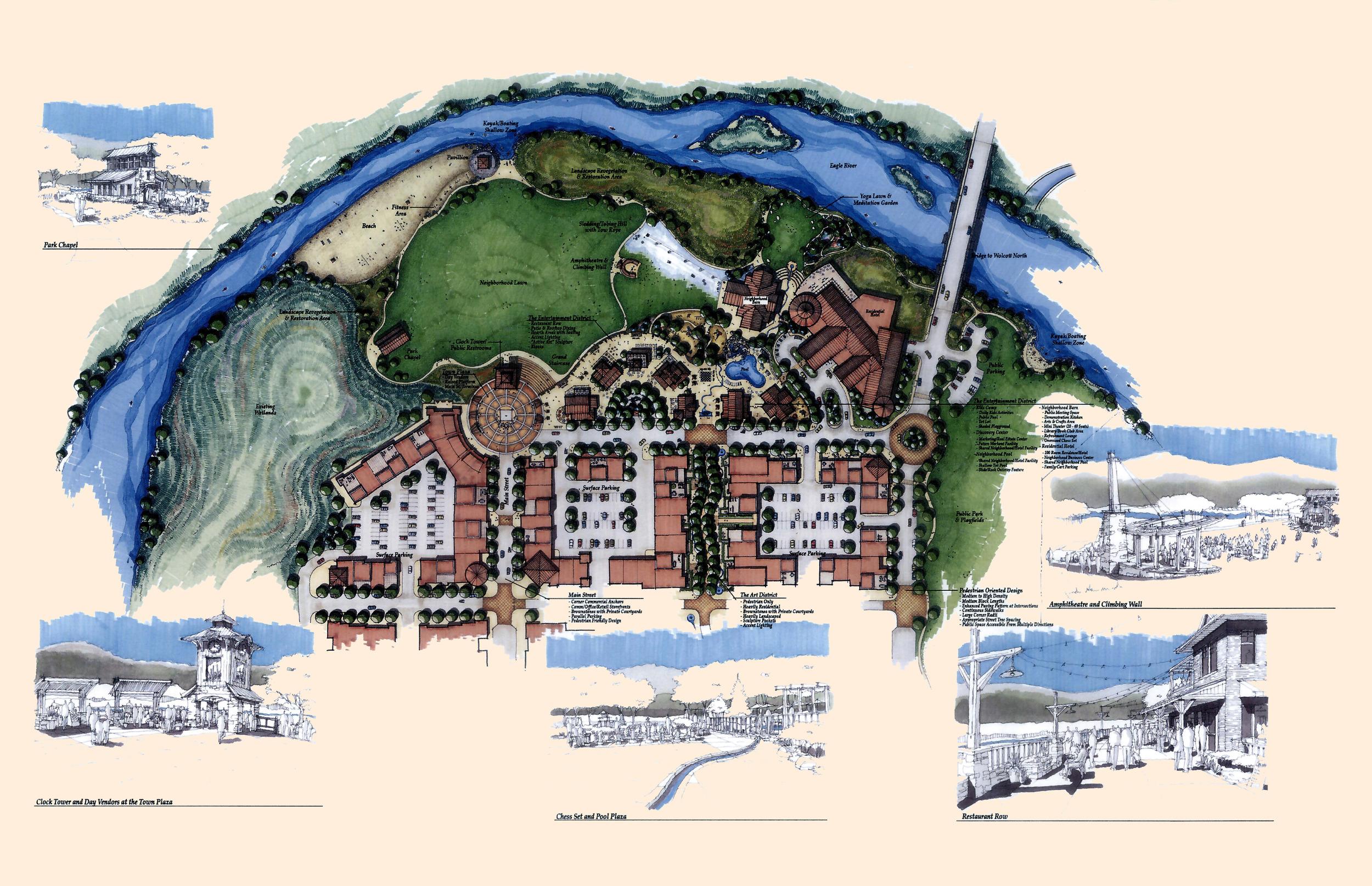 Wolcott Town Center Concept - Colorado