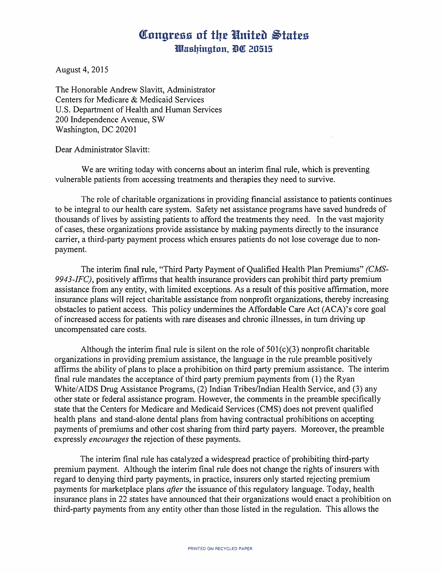 CMS Letter re Third Party Payments_Page_1.png