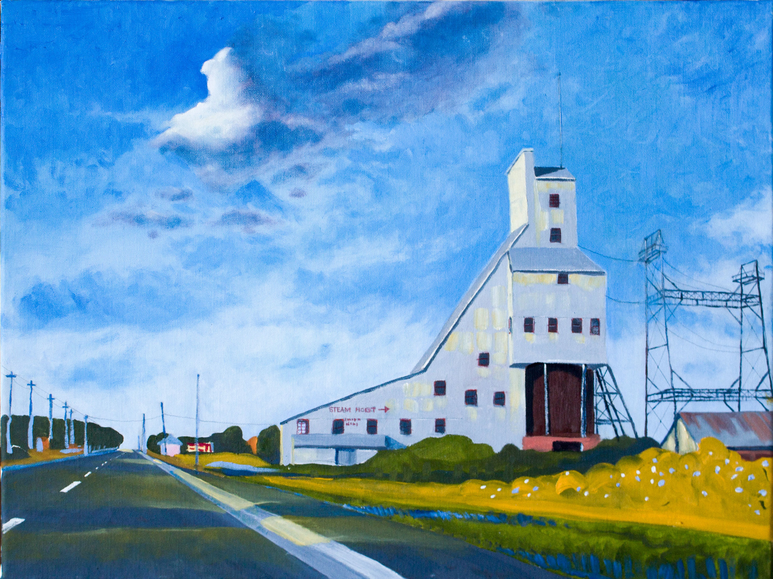 """"""" Quincy Mine,"""" Brian Barkwell"""