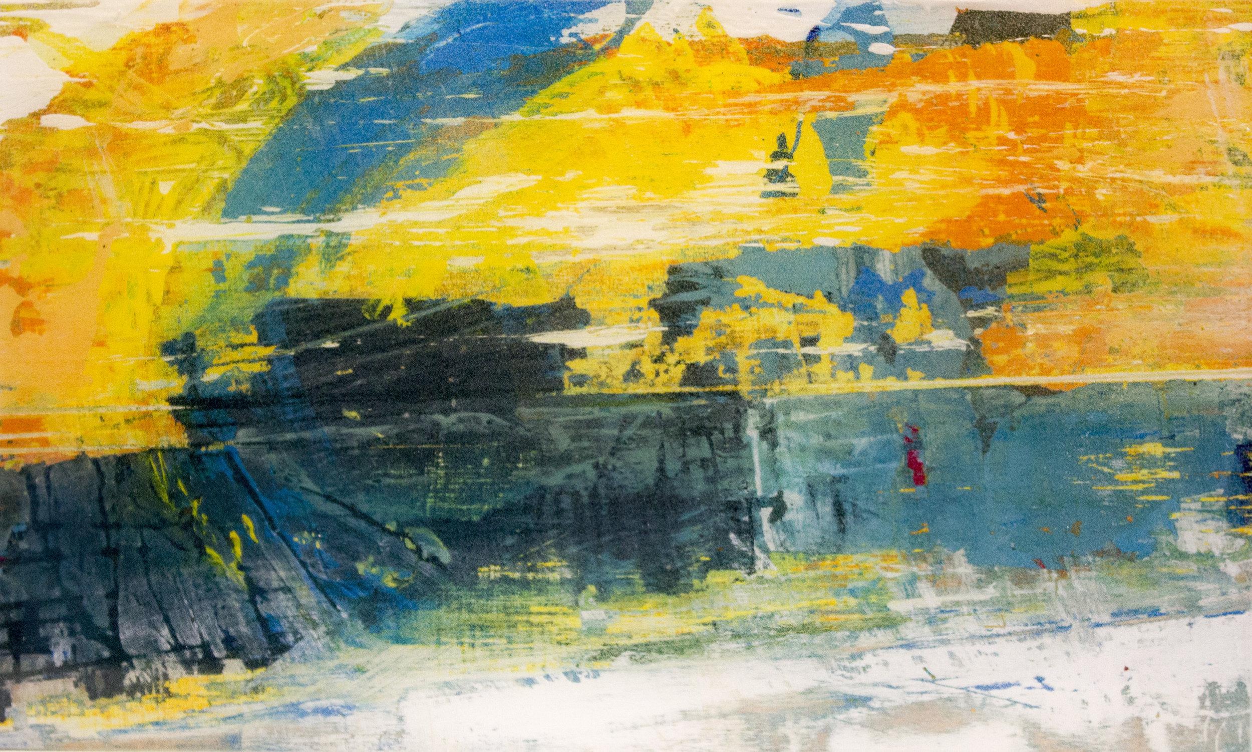 """ Color Compositions #009: Lake Michigan Sunset,"" Matt Maher"