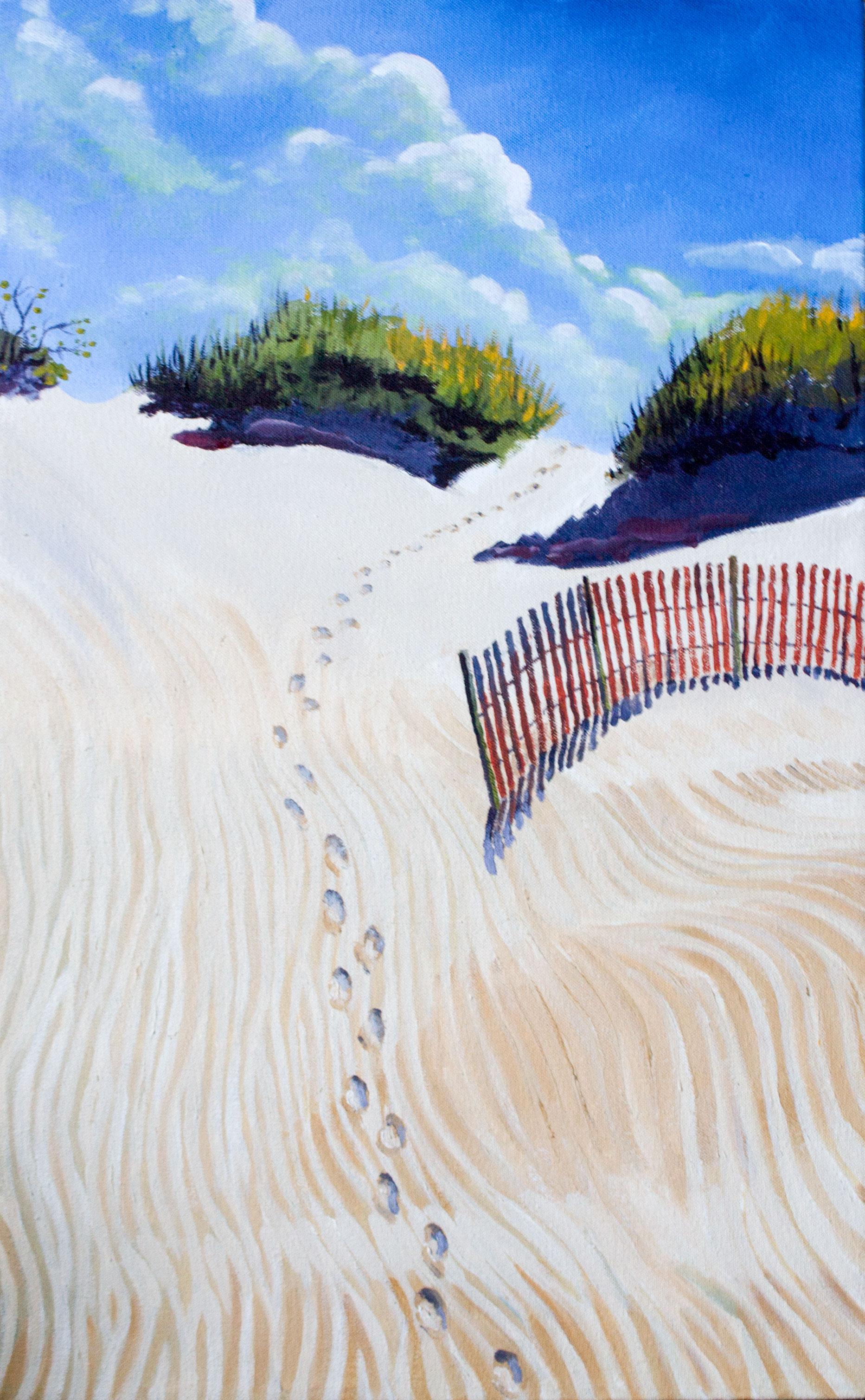 """ Dune Path,"" Brian Barkwell"