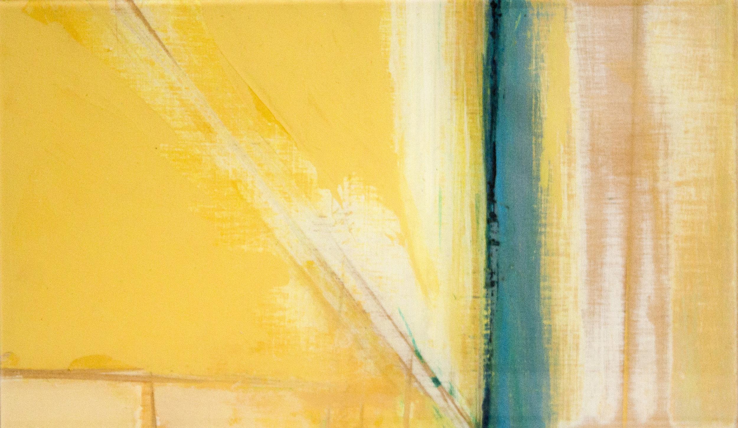 """""""Series #1: Color Compositions #14 Yellow D,""""     Matt Maher"""