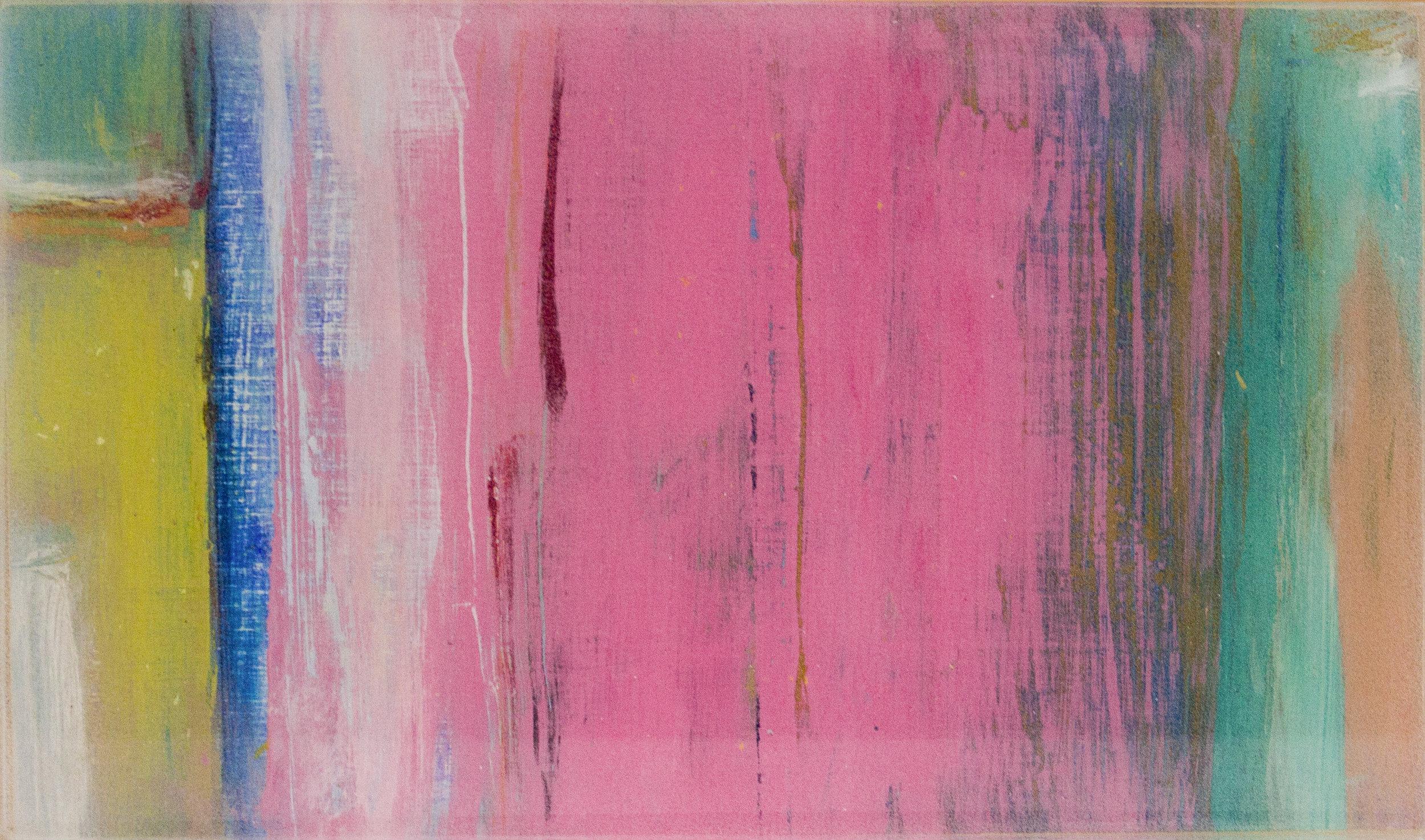 """Series #1: Color Compositions #17 Pink and Greens A,"" Matt Maher"