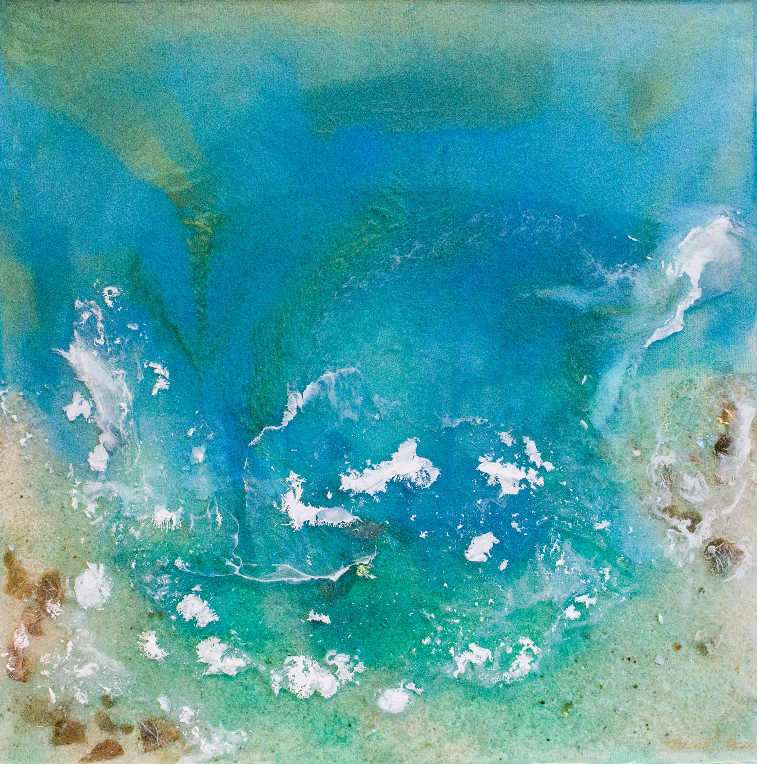 """""""Down By the Sea,"""" Diane Hasso"""
