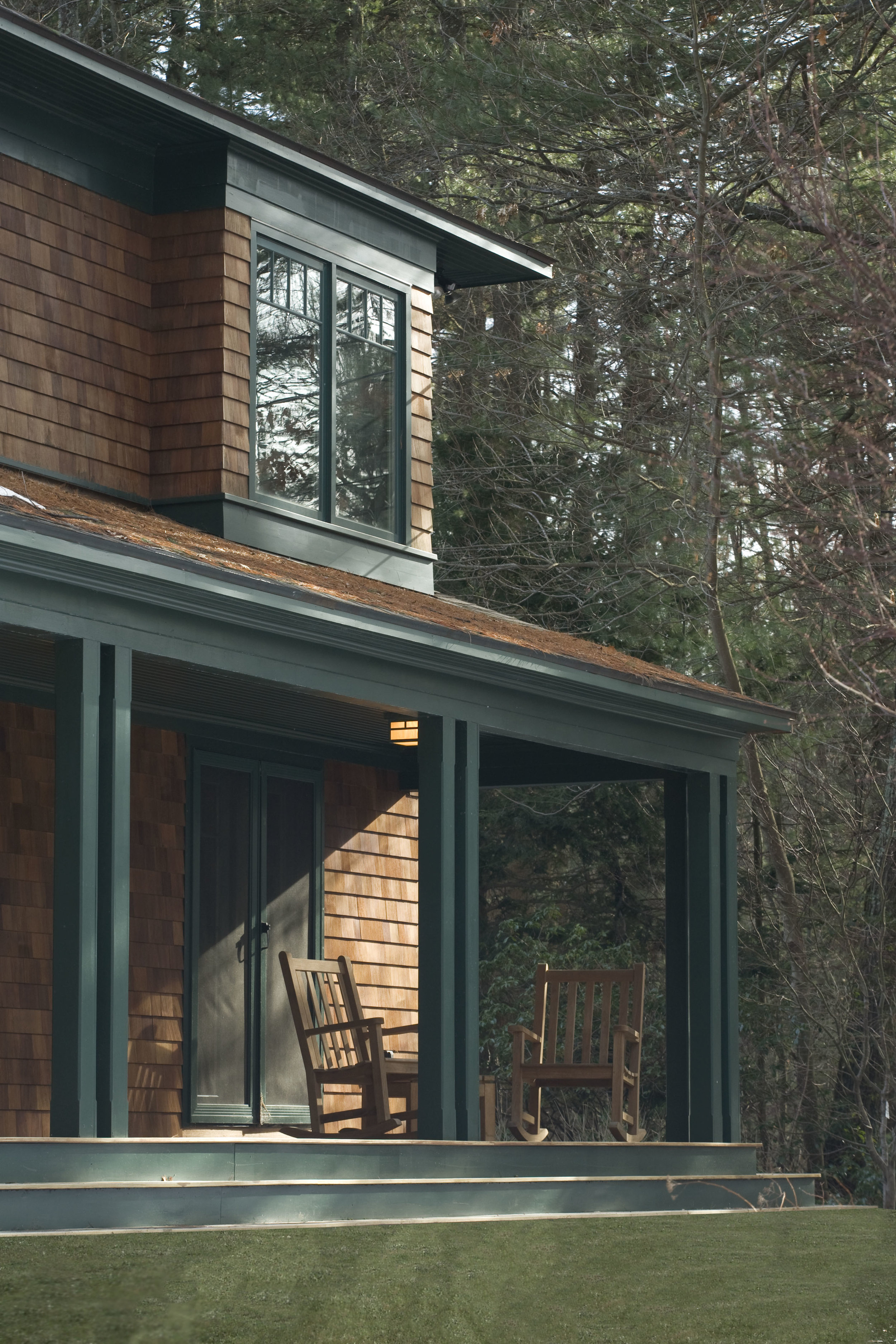 New cedar shingles