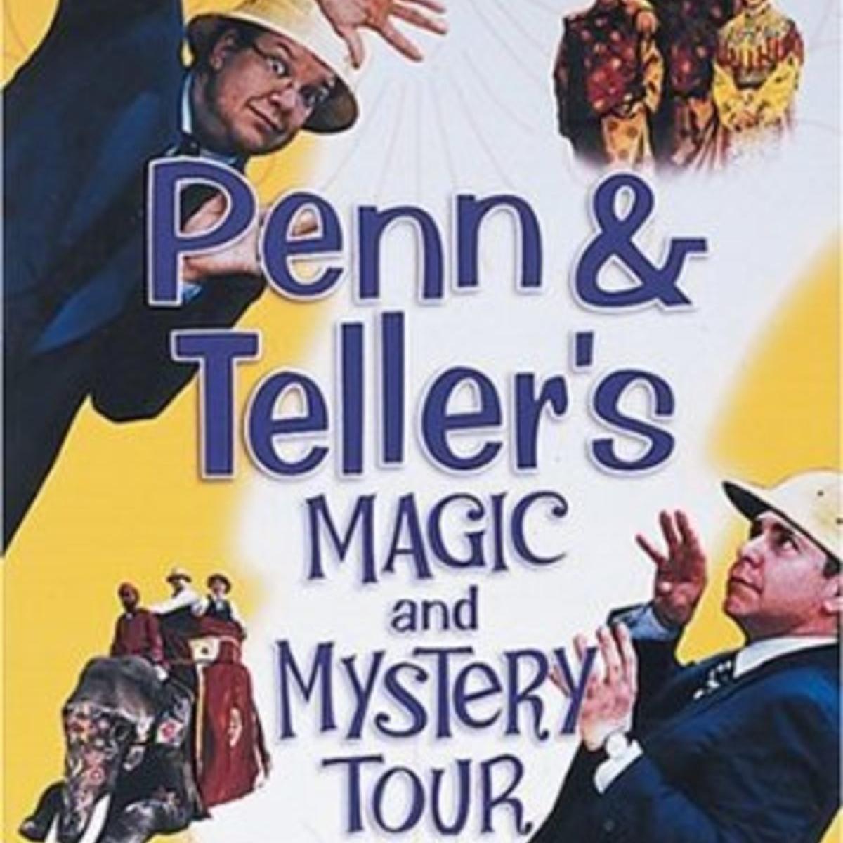 Penn & Teller's Magic Mystery Tour,  2000.    (60 Mins.)