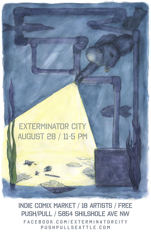 exterminator city poster