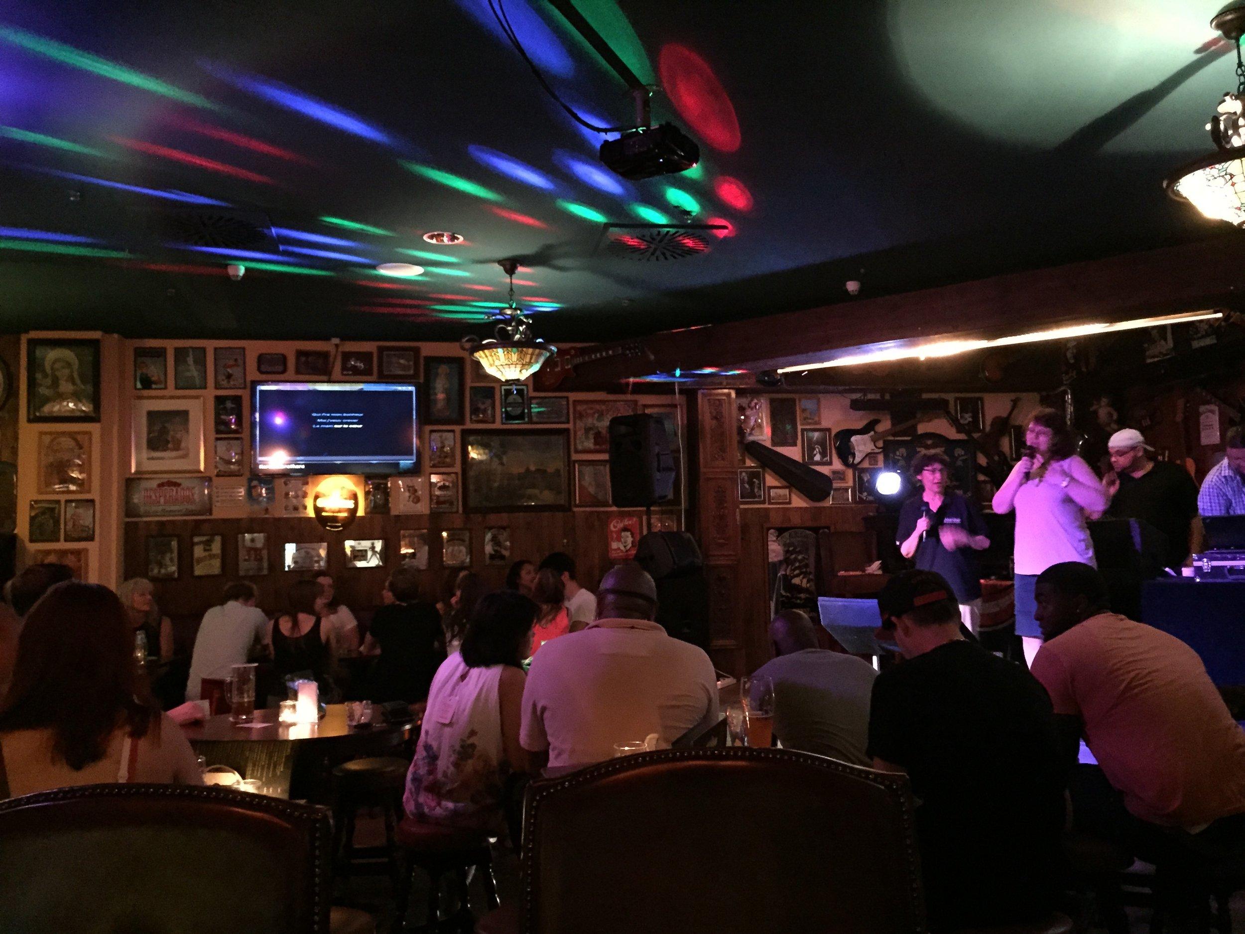 Karaokeabend im Pub(existiert leider nicht mehr)