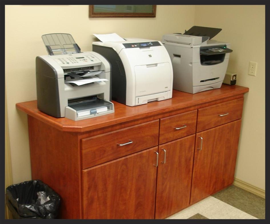 Wood Printer Station