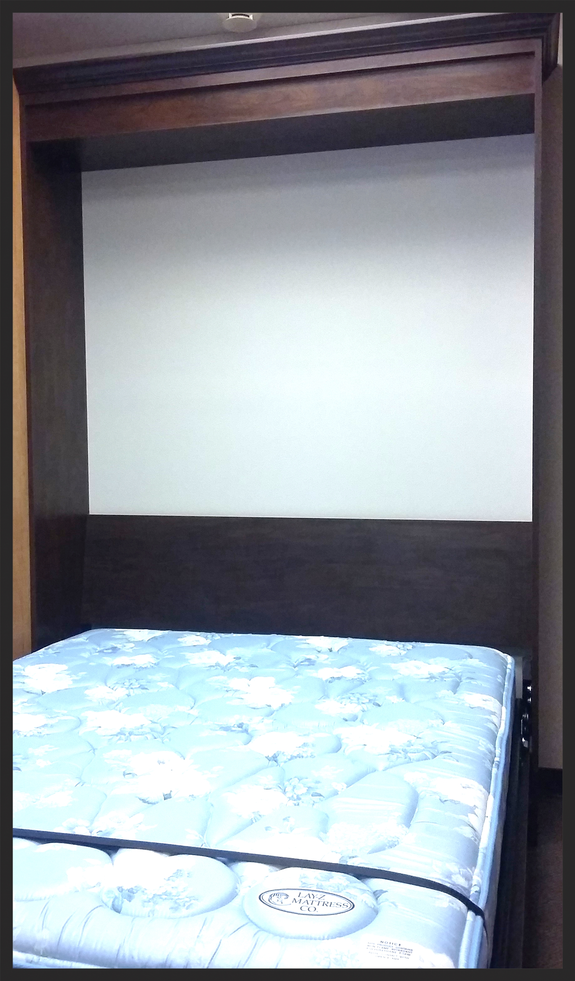 Showroom Wall Bed Down