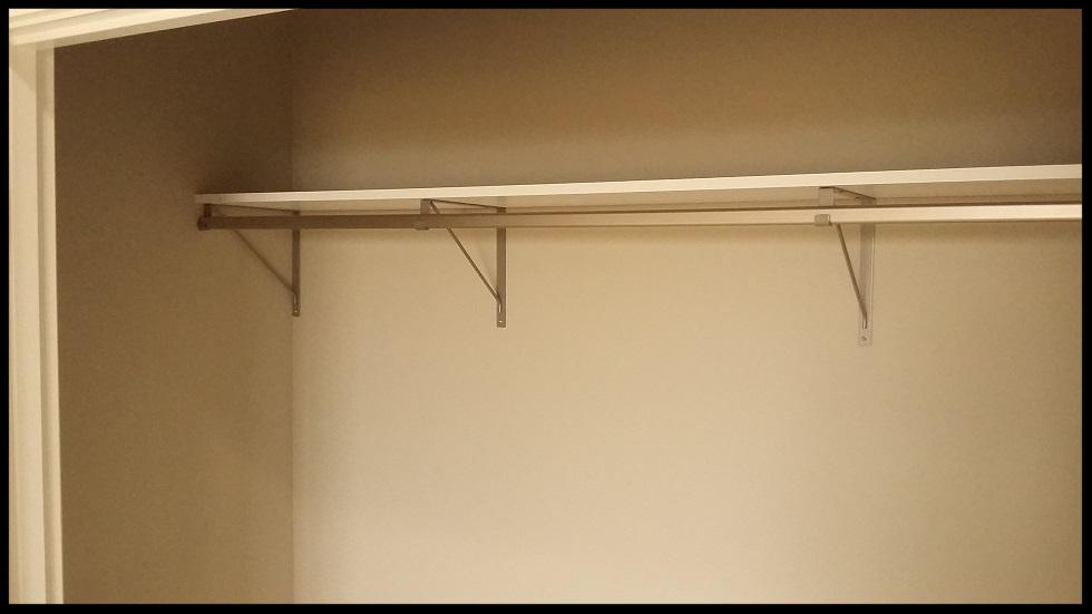 Shelf and Rod Closet