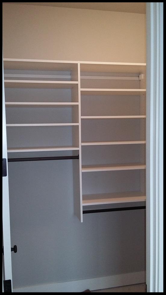 Adjustable Closet