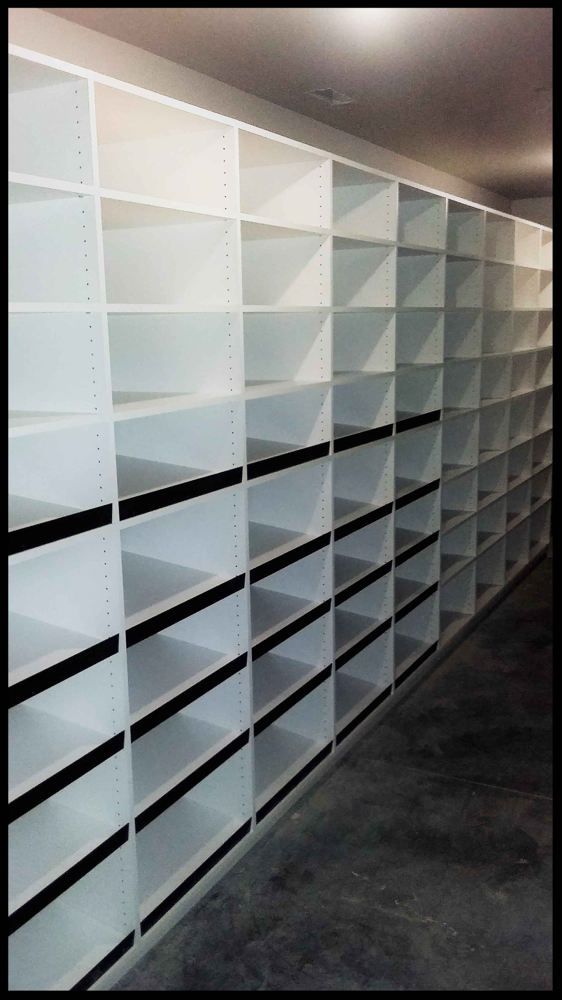 Pantry with Can Storage