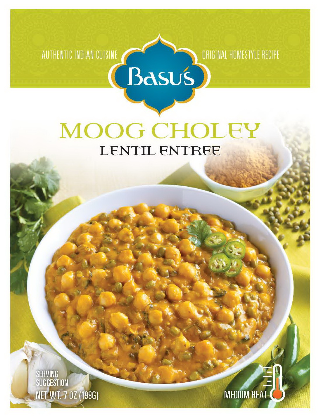 Moog Choley Lentil Entree