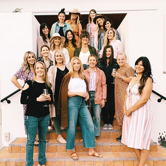 Missing this beautiful group of humans.... #nourishtheretreat #wellnessretreat #creativeretreat #selflove #lagunabeach #hoteljoaquin