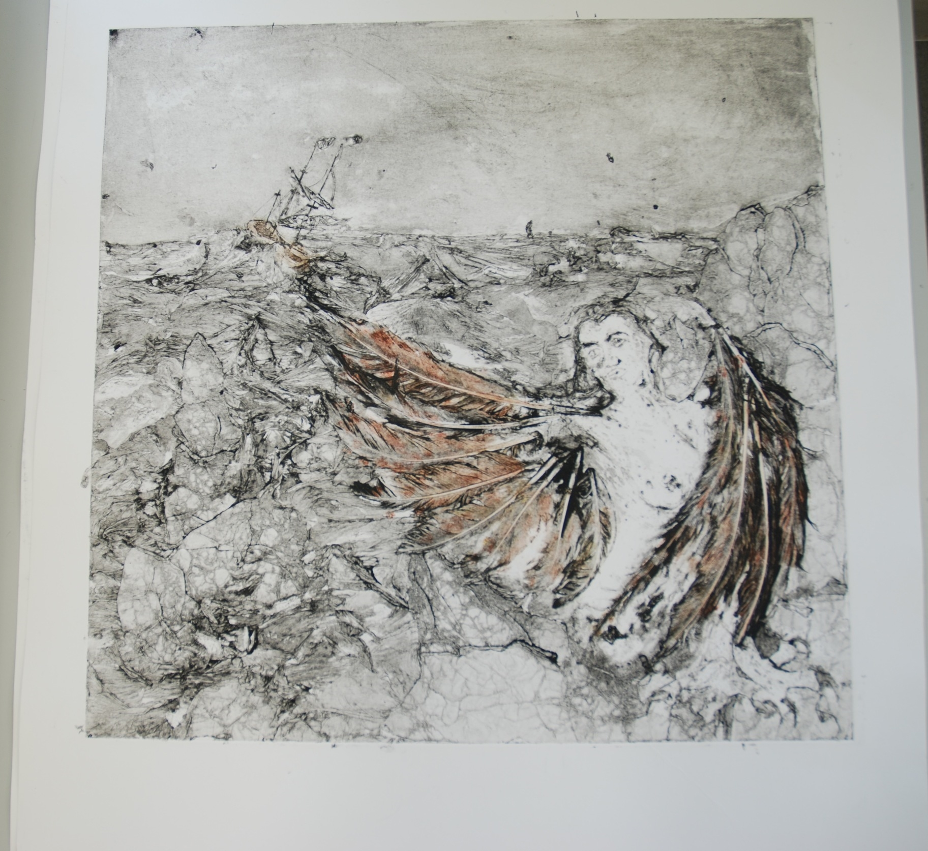 Bird of Joy (print no3)
