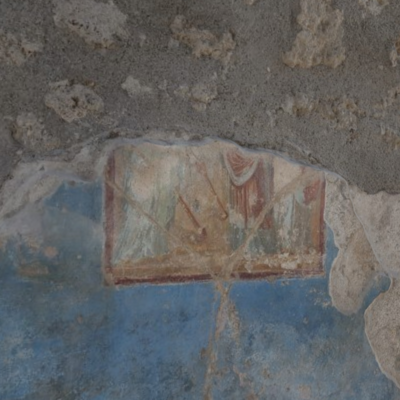 Figure 2: Screenshot of 3D mode: detail of the North wall.