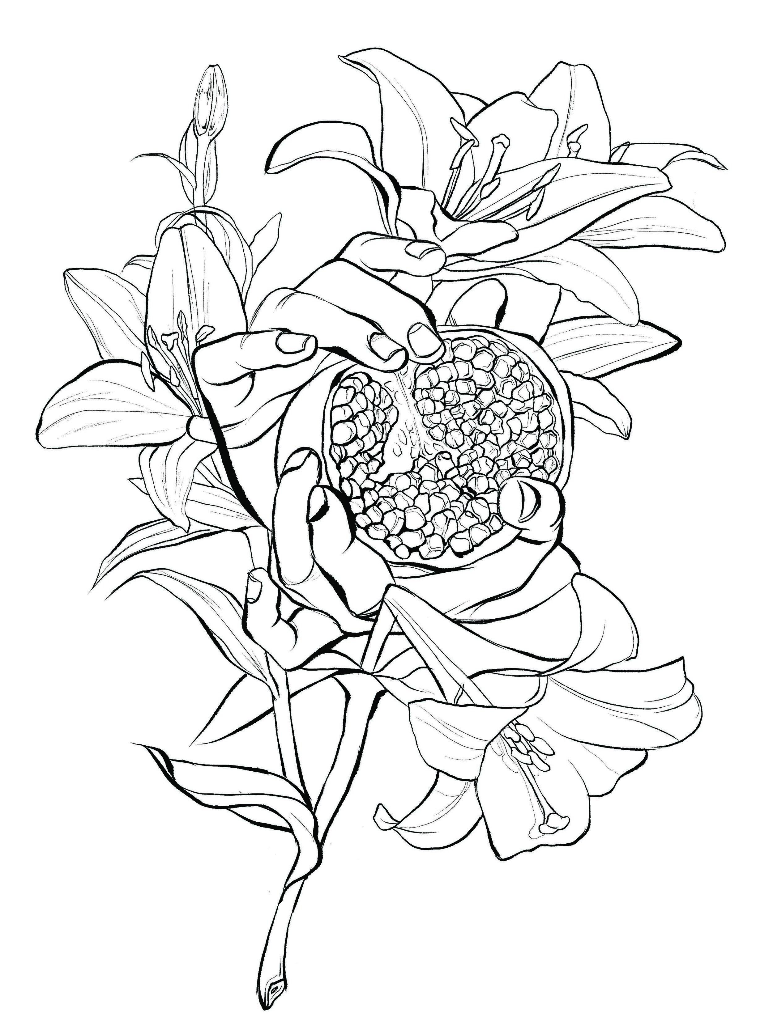 Bouquet of Persephone