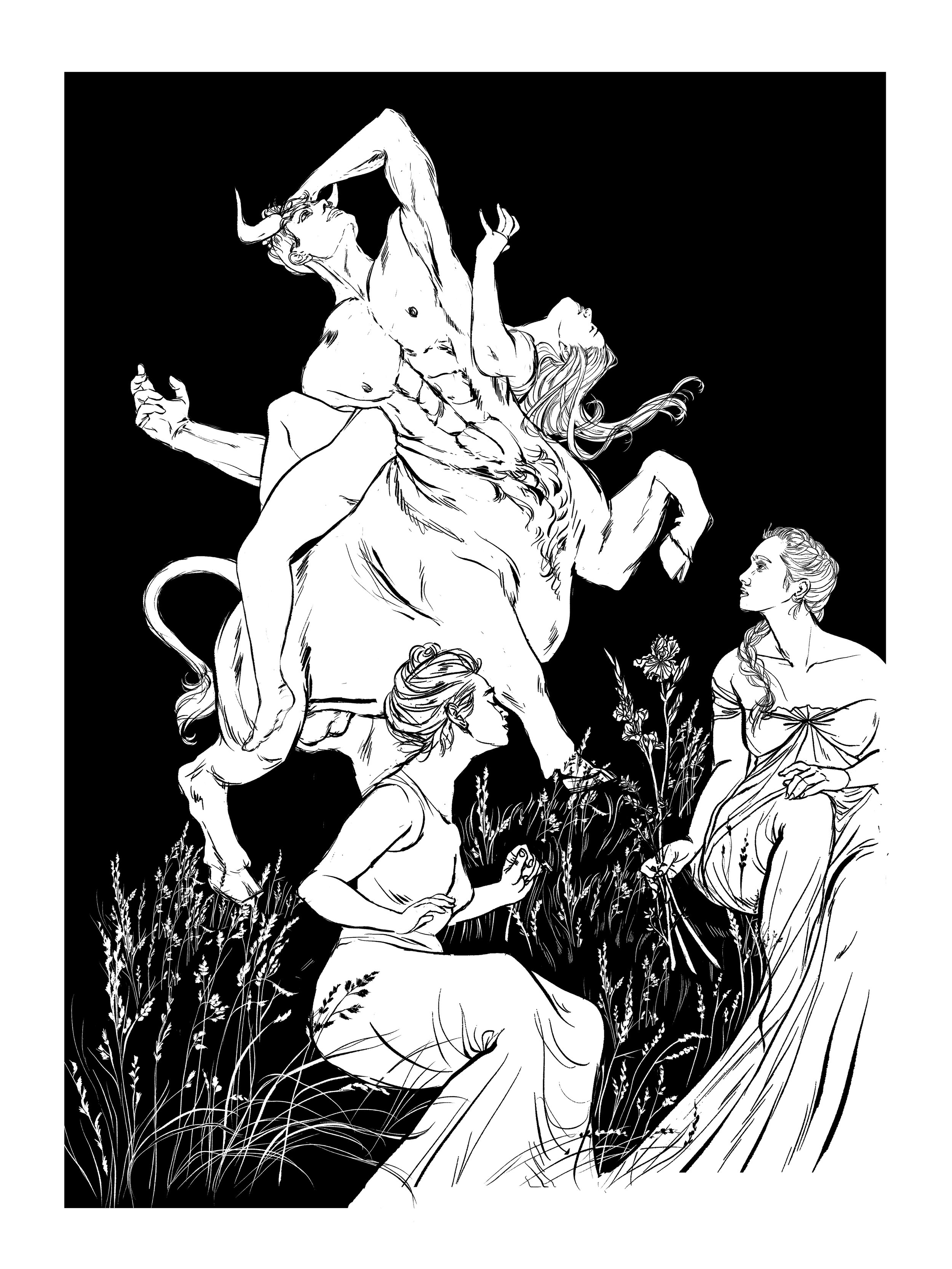 Europa and the Bull-Lineart copy.jpg