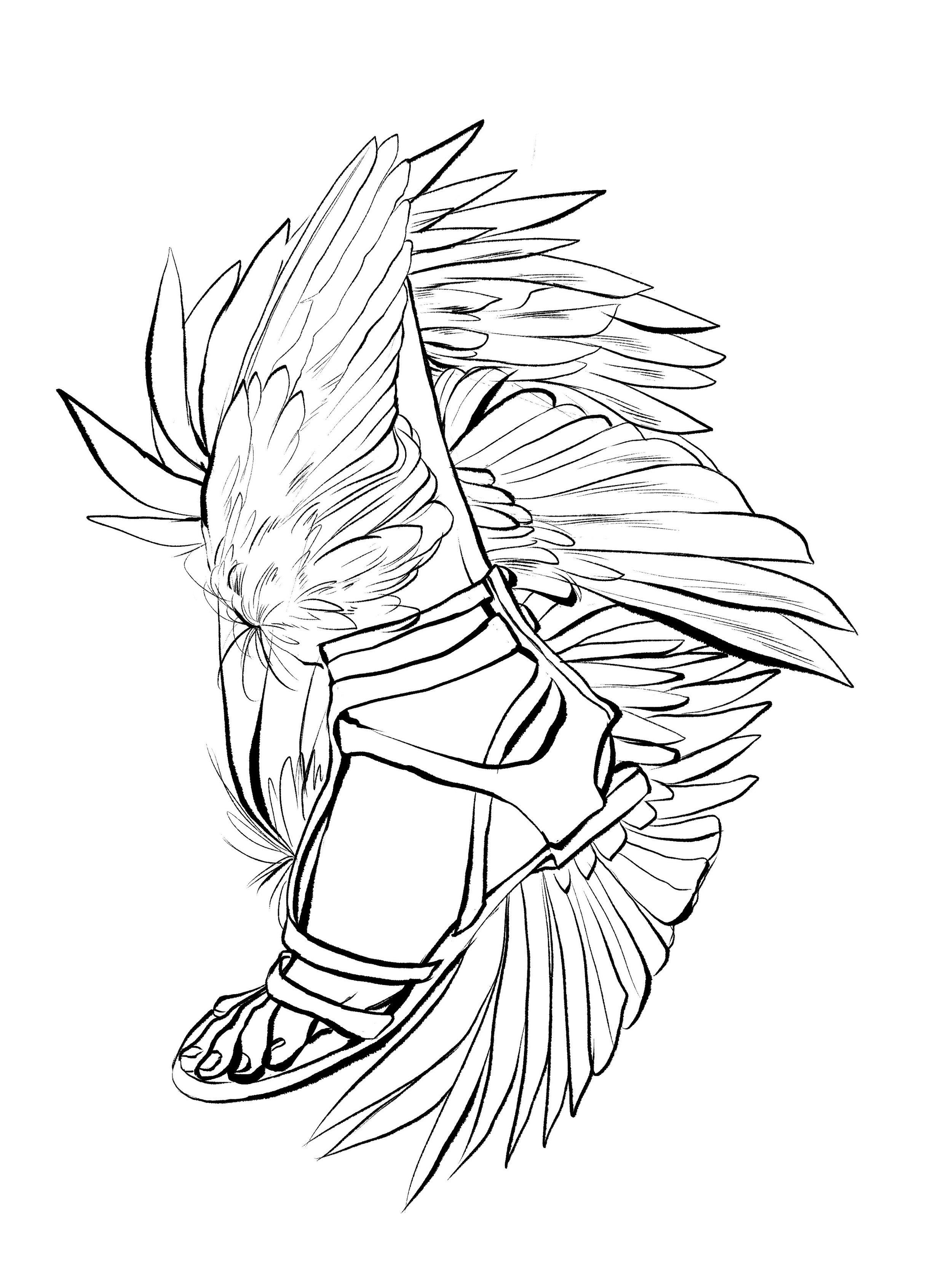 Hermes' Flight