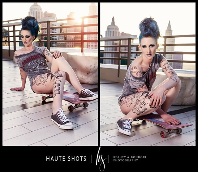 Makeup & tattoos: @katludens 💙 Hair: @rachbates_doeshair 💙 Photo: @staciefrazier @hauteshots