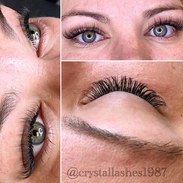 Classic Lash Extensions by @crystallashes1987