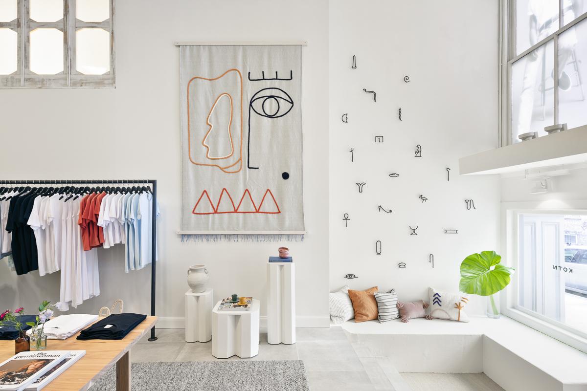 Retail Interior Photography   Kotn's Soho location