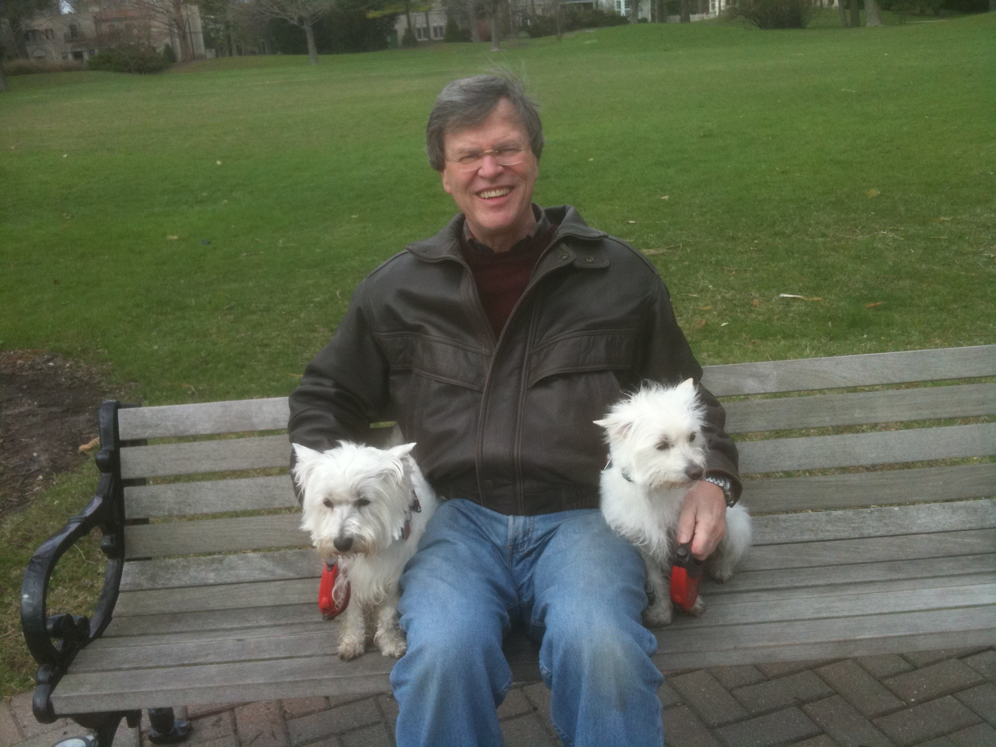 Wally and his two pups