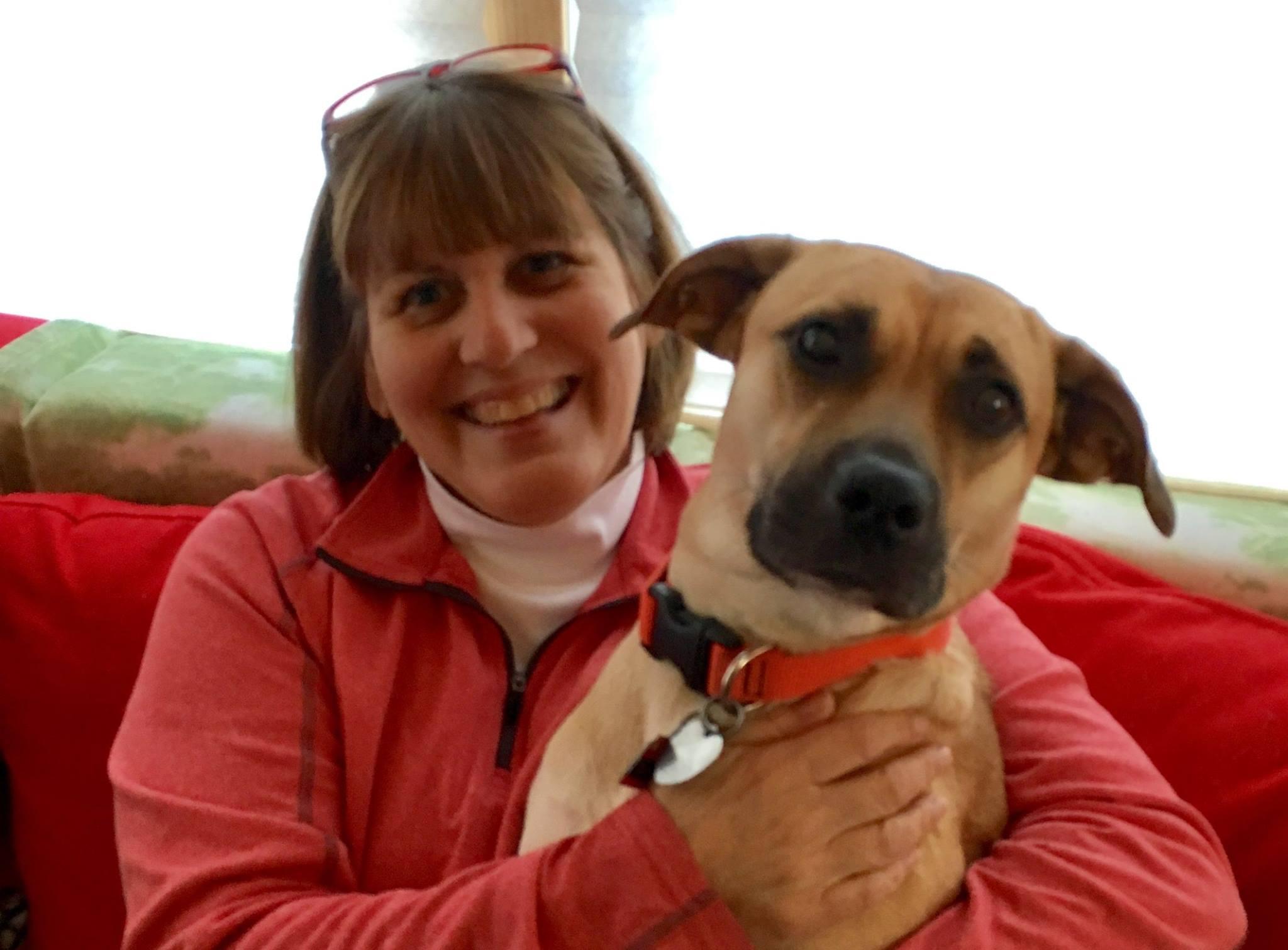 Lynn Nelson and Puppy.jpg