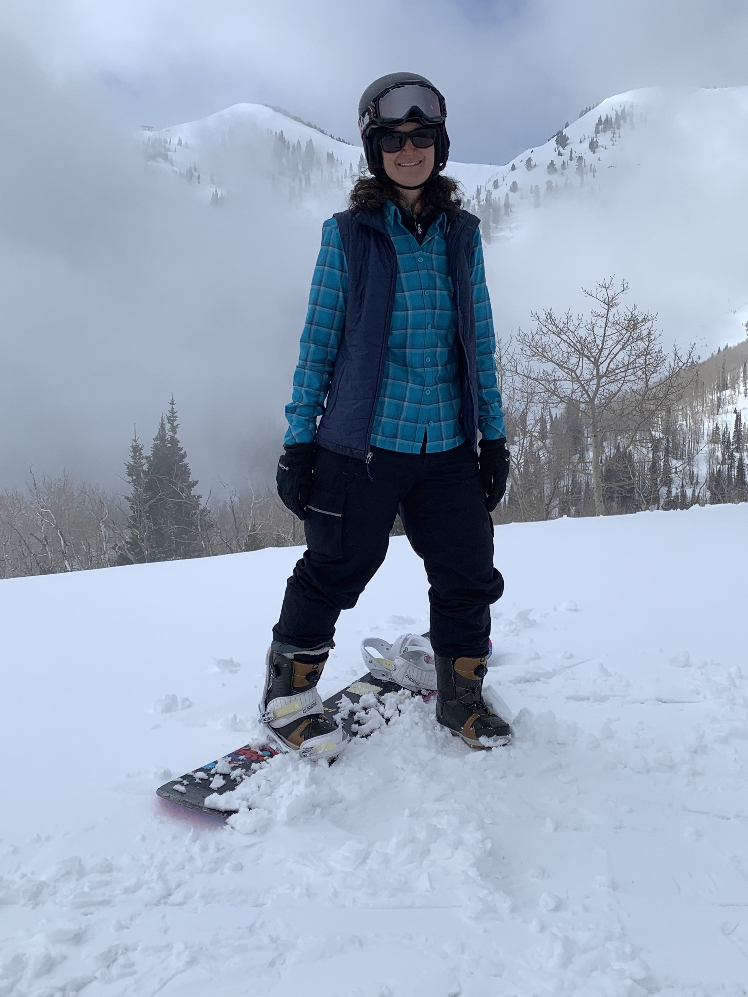 Laura on Snowboard.jpeg