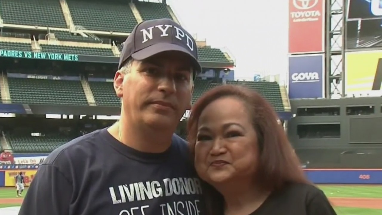 Kidney donor and recipient meet in person for the first time - READ MORE